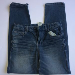 BOYS FADED GLORY DISTRESSED JEANS SIZE 18